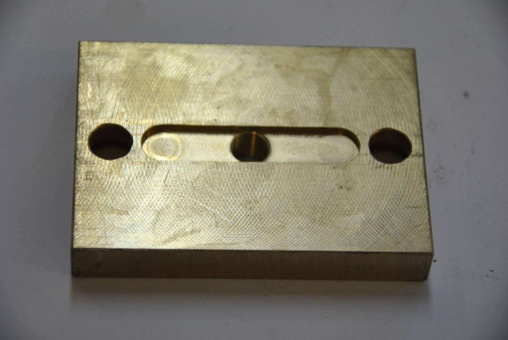 Направляющая пластина зубчатой рейки (узкая), 1 шт.