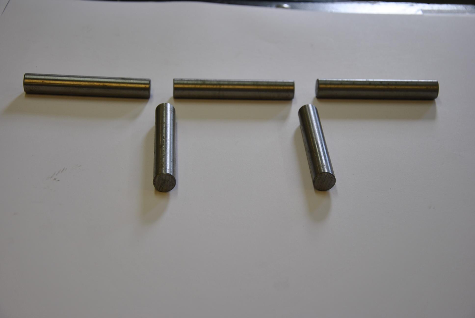 Вал конического ролика протяжки проволоки, 4-5 шт/комп