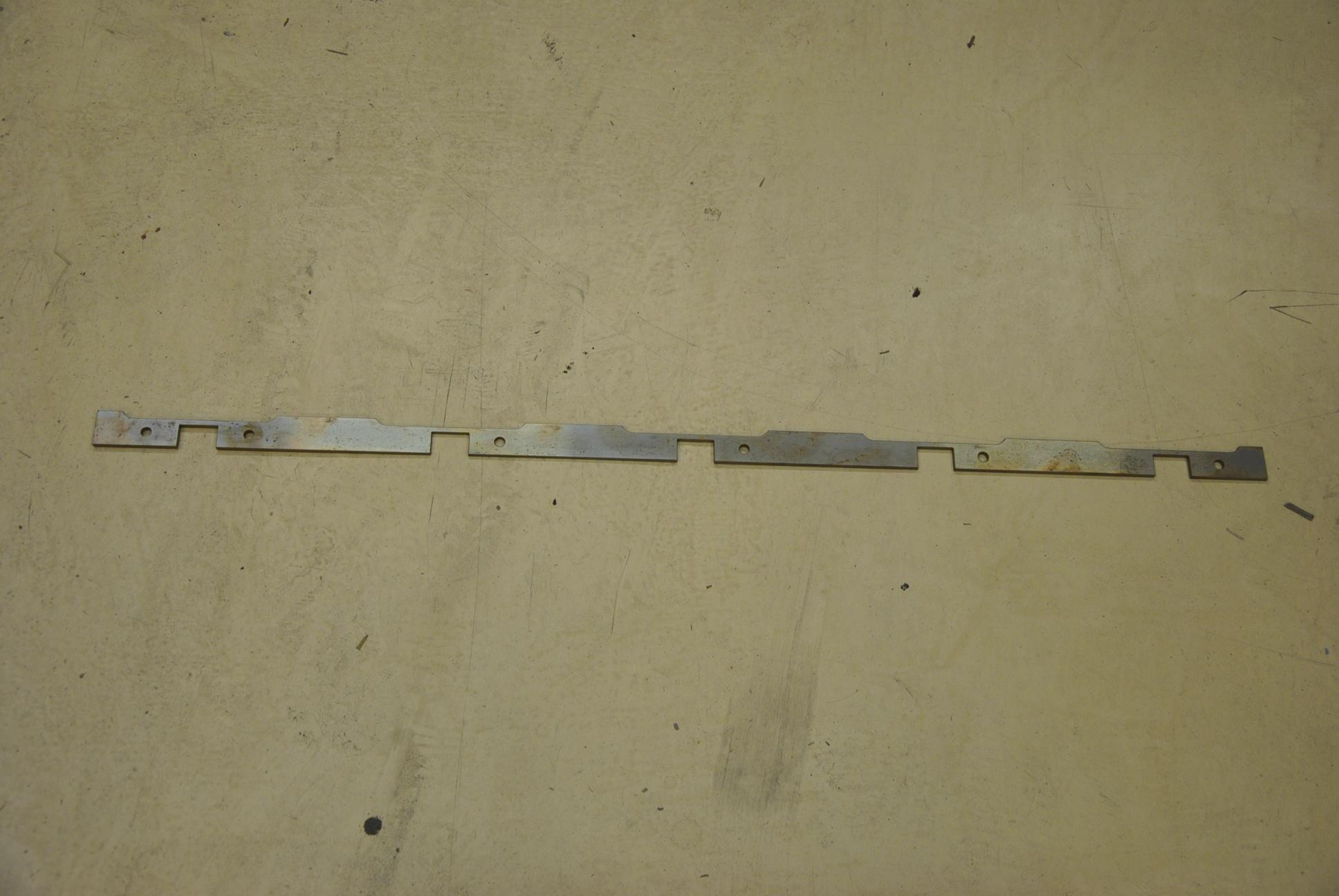 Нож режущий стационарный, 1 шт.