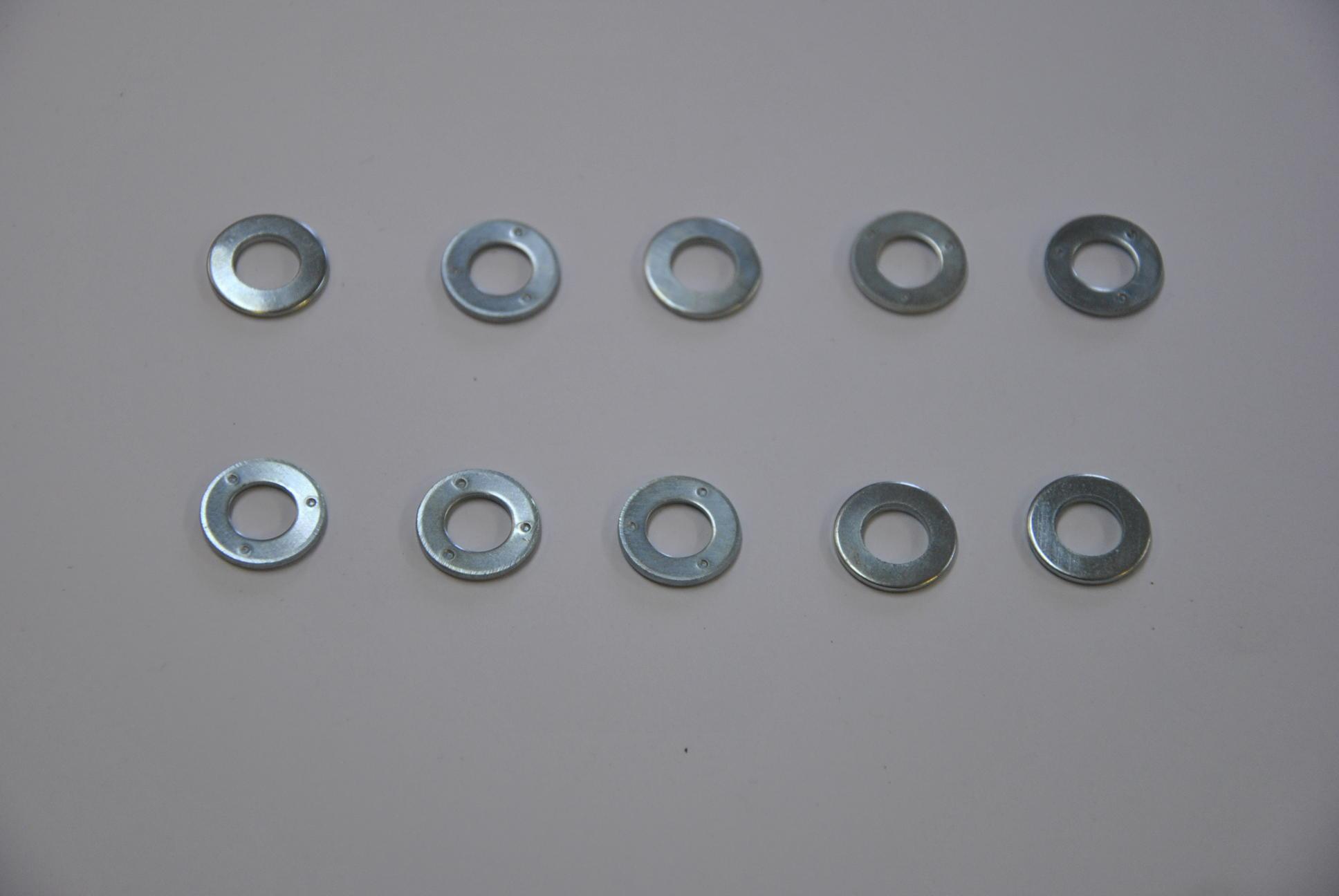 Шайба для болтов крепления верхней и нижней пластины скручивающего устройства, 31 шт.